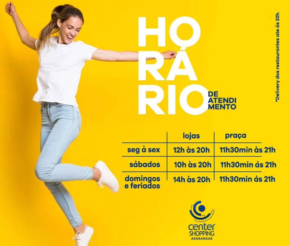 Horários Center Shopping