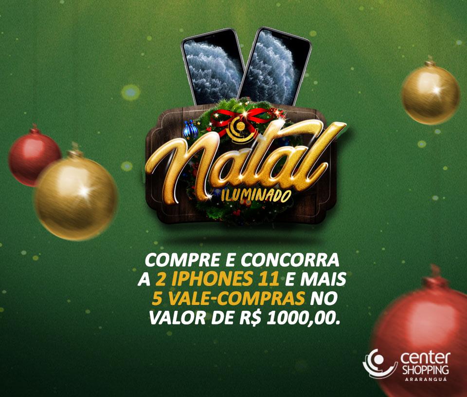 Natal Iluminado Center Shopping